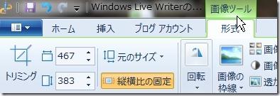 Windows Live Writerの画像の編集方法